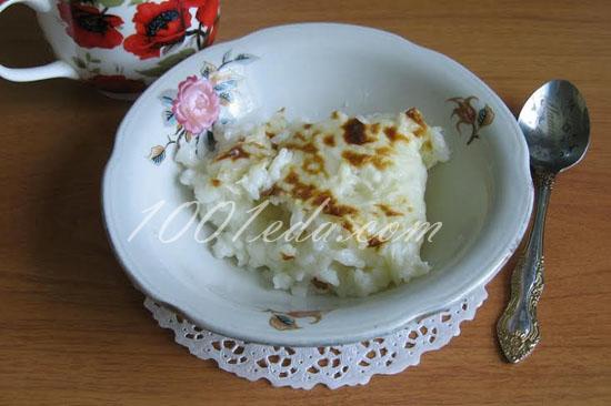 Молочная рисовая каша с киноа – кулинарный рецепт