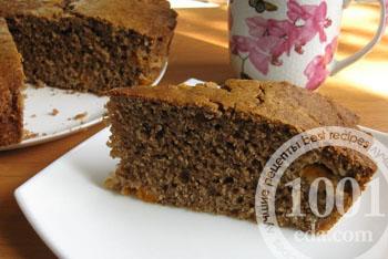 Великолепный шоколадный пирог из отрубей – кулинарный рецепт