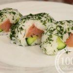 Каша рисовая с лососем на закуску: рецепт с пошаговым фото