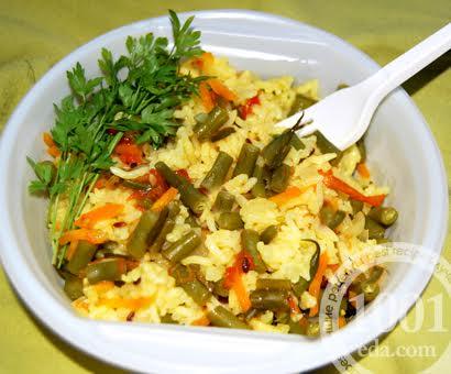 Рисовая каша с овощами в мультиварке: рецепт с пошаговым фото