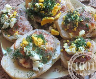 Картофельные лодочки: рецепт с пошаговым фото