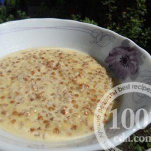 Гречневая каша на молоке: рецепт с пошаговым фото