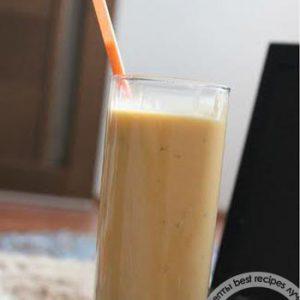 Морковно-банановый смузи