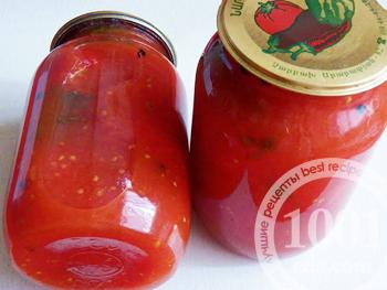 рецепт закатывать помидоры