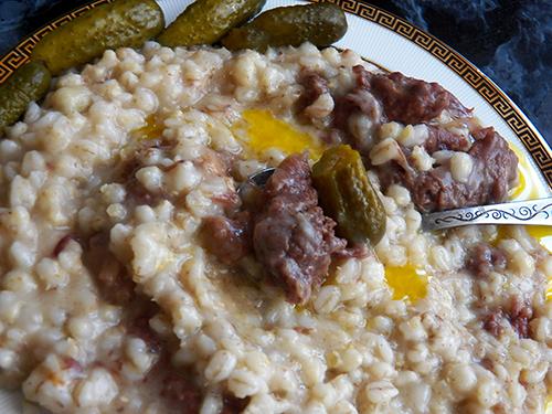 Перловая каша с мясом рецепт с пошагово в кастрюле