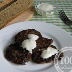Печеночные оладьи на сковороде: рецепт с пошаговым фото