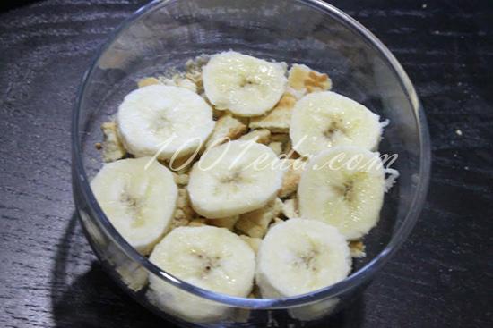 рецепт салат из банана и
