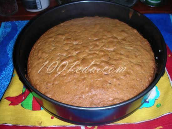 Торт шоколадный с заварным кремом – кулинарный рецепт