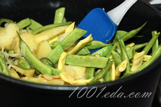 Тушеная фасоль зеленая рецепт с пошагово