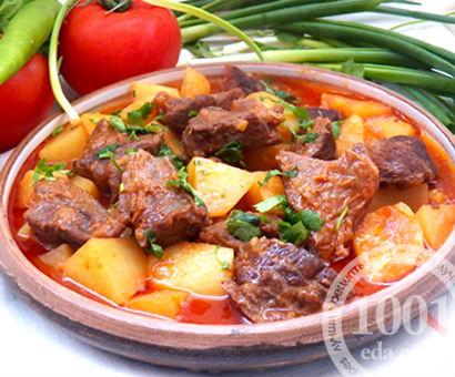 Гуляш по-венгерски из баранины: рецепт с пошаговыми фото