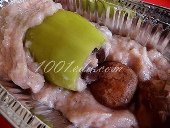 Башенки из черного хлеба, пошаговый рецепт с фото