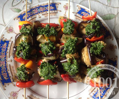 Овощи-гриль на шпажках: рецепт с пошаговым фото
