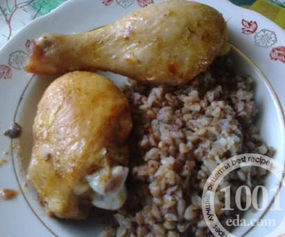 Куриные окорочка запеченные в духовке