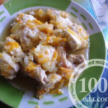 Куриное филе с кабачками в мультиварке: рецепт с пошаговым фото