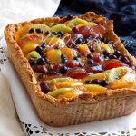 Тарт со свежими фруктам: рецепт с пошаговым фото