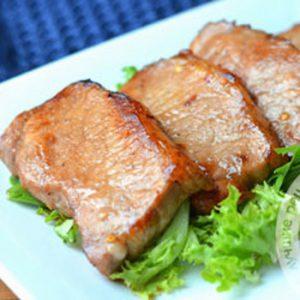 Стейк из свинины с медом в духовке