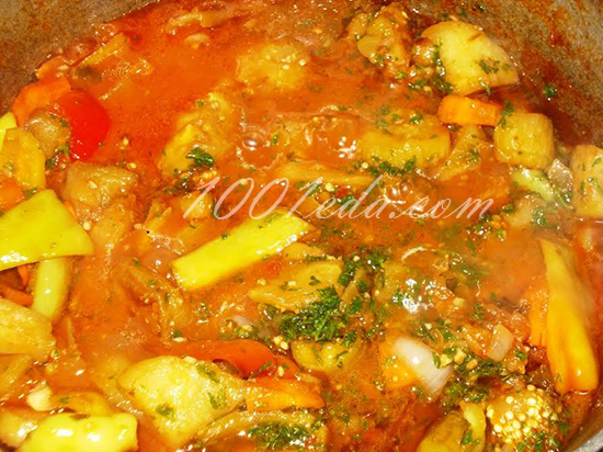 Икра баклажанная – кулинарный рецепт
