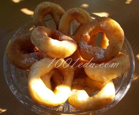 Пончики на сыворотке рецепт