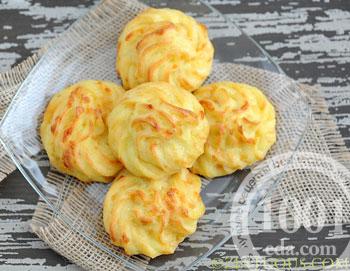 рецепт печенья на колбасном сыре
