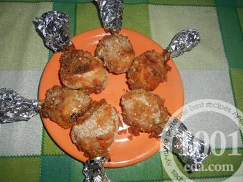 Голени в любимом маринаде – кулинарный рецепт
