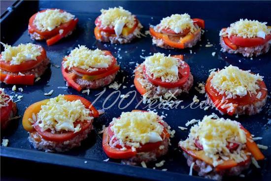 Гнезда с овощами рецепт пошагово 2