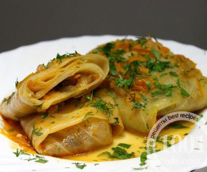 Голубцы с овощной начинкой: рецепт с пошаговым фото