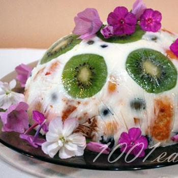 Фруктово-ягодный тортик