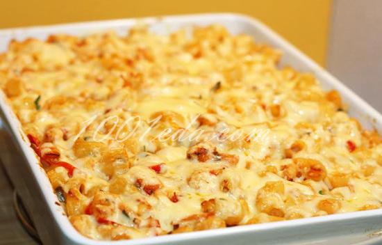 Рожки с сыром рецепт с пошагово в