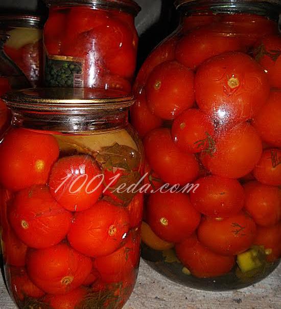 Рецепт помидоры на зиму пошаговой рецепт с