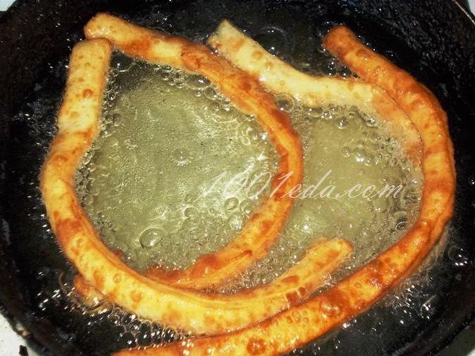 Хворост на сковороде рецепт пошагово
