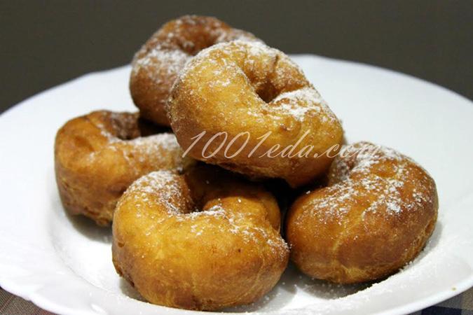 Воздушные пончики: рецепт с пошаговым фото