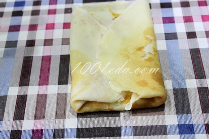 Блины на молоке с творогом рецепт с пошаговым