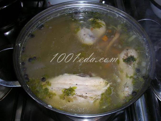простой рецепт горохового супа с курицей фото