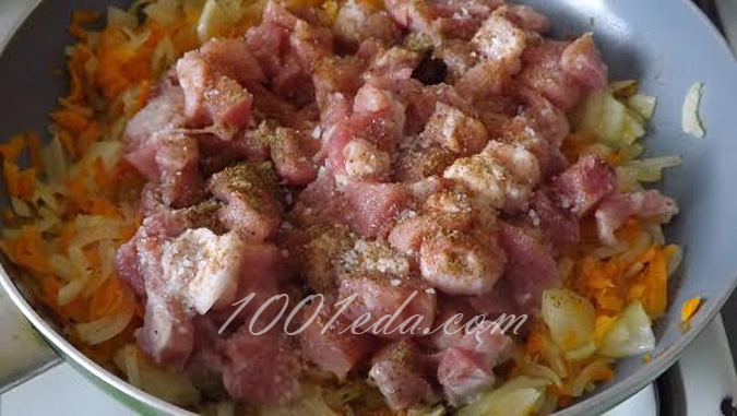Свинина с картофелем на сковороде – кулинарный рецепт