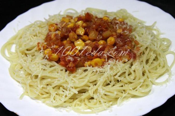 Соус для спагетти с грибами пошагово