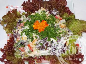 домашние рецепты с листьями салата