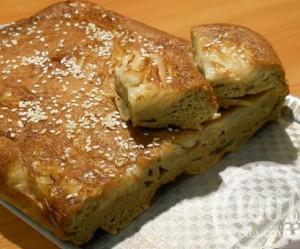 Капустная шарлотка – пирог быстрого приготовления: рецепт с пошаговым фото
