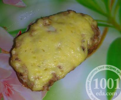 Горячие бутерброды с тунцом и сыром