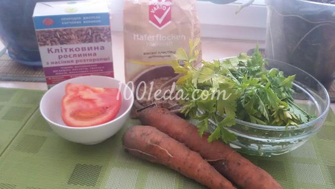 Морковно-овсяные хлебцы: рецепт с пошаговым фото