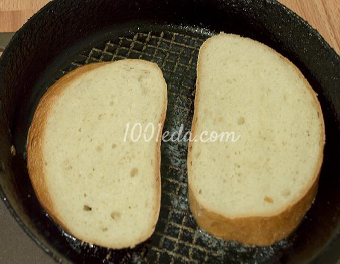 горячий бутерброд с грибами картинки