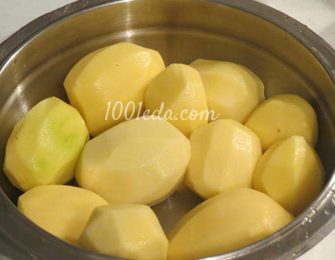 В духовке, Блюда из картофеля
