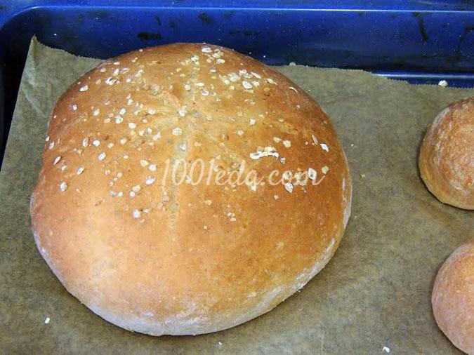 Овсяный хлеб: рецепт с пошаговым фото