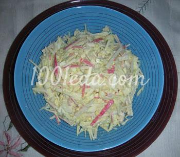 салаты с капустой рецепты калорийность