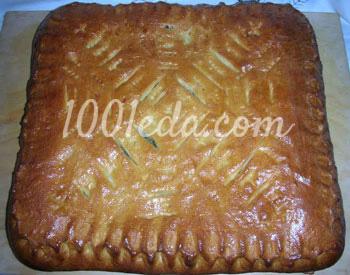 Пирог с яблоками на дрожжевом тесте рецепт пошагово 69
