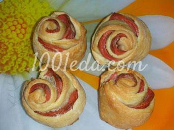 колбасный торт из печенья рецепт