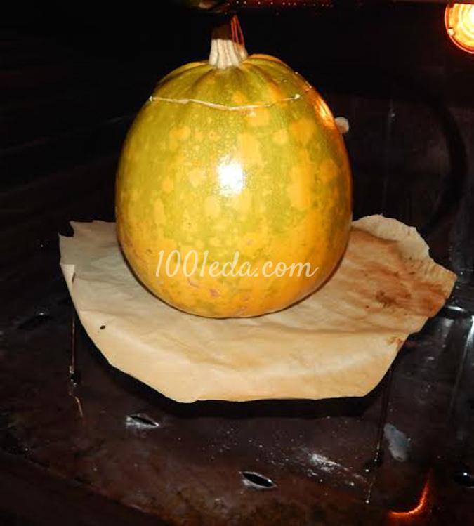 свинина в тыкве в духовке рецепт с фото