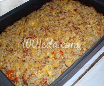 Картофельная запеканка Пятиминутка