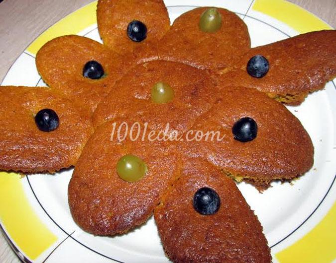 Тыквенно яблочный пирог рецепт с фото