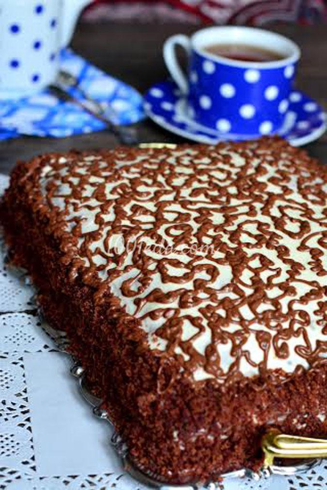 Торт с вишнями и сметанным кремом рецепт с фото пошагово 14