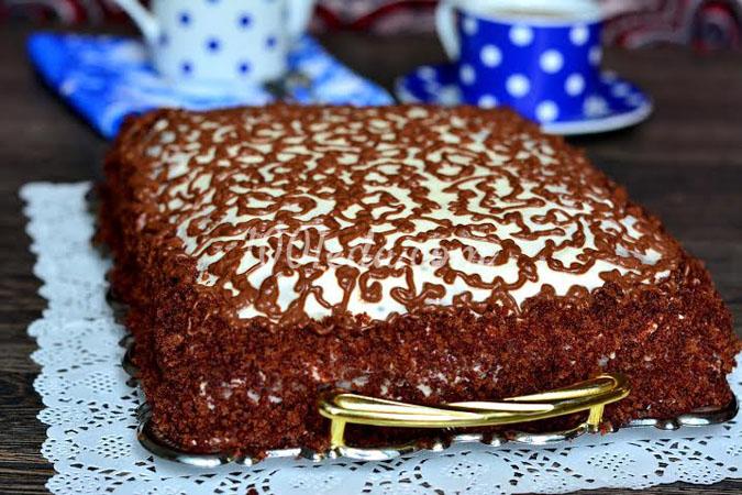 Торт Шоколадное удовольствие